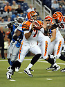 BRUCE GRADKOWSKI, of the Cincinnati Bengals in action during the Bengals game against the Detroit Lion on August 12, 2011 at Ford Field in Detroit, Michigan. The Lions beat the Bengals 34-3.