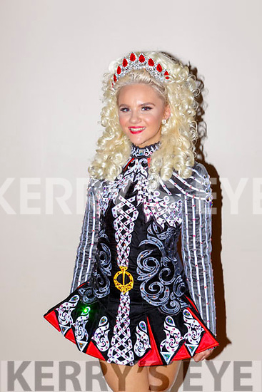 Chloe Pierce from Brisbane, Australia who came to the mother Breda (Horgan)Pierce  home town for the All Ireland Irish Dancing finals in Killarney on Friday