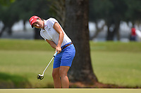 Carlota Ciganda (ESP) watches her long birdie attempt on 1 during round 4 of the 2019 US Women's Open, Charleston Country Club, Charleston, South Carolina,  USA. 6/2/2019.<br /> Picture: Golffile | Ken Murray<br /> <br /> All photo usage must carry mandatory copyright credit (© Golffile | Ken Murray)