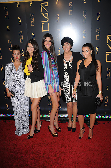 WWW.ACEPIXS.COM . . . . . .April 23, 2012...New York City....Kourtney Kardashian, Kylie Jenner, Kendall Jenner, Kris Jenner  and Kim Kardashian at the Grand Opening of RYU Restaurant on April 23, 2012  in New York City ....Please byline: KRISTIN CALLAHAN - ACEPIXS.COM.. . . . . . ..Ace Pictures, Inc: ..tel: (212) 243 8787 or (646) 769 0430..e-mail: info@acepixs.com..web: http://www.acepixs.com .
