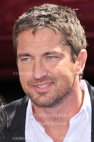 "Gerard Butler at the world premiere of his new movie ""Nim's Island"" at Grauman's Chinese Theatre, Hollywood..March 30, 2008  Los Angeles, CA.Picture: Paul Smith / Featureflash"
