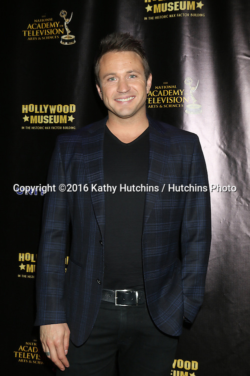 LOS ANGELES - APR 27:  Matt Doran at the 2016 Daytime EMMY Awards Nominees Reception at the Hollywood Museum on April 27, 2016 in Los Angeles, CA