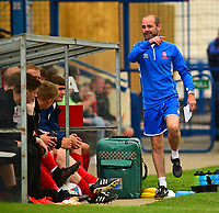 Lincoln City's academy manager Damian Froggatt<br /> <br /> Photographer Andrew Vaughan/CameraSport<br /> <br /> Pre-Season Friendly - Gainsborough Trinity v Lincoln City - Saturday 15th July 2017 - The Gainsborough Martin &amp; Co Arena - Gainsborough<br /> <br /> World Copyright &copy; 2017 CameraSport. All rights reserved. 43 Linden Ave. Countesthorpe. Leicester. England. LE8 5PG - Tel: +44 (0) 116 277 4147 - admin@camerasport.com - www.camerasport.com