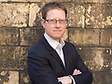 Jonathan Freedland who writes under the name of Sam Bourne , novelist and writer  at The Oxford Literary Festival at Christchurch College Oxford  . Credit Geraint Lewis