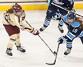 Haley Skarupa (BC - 22), Katy Massey (Maine - 18) - The Boston College Eagles defeated the visiting University of Maine Black Bears 10-0 on Saturday, December 1, 2012, at Kelley Rink in Conte Forum in Chestnut Hill, Massachusetts.