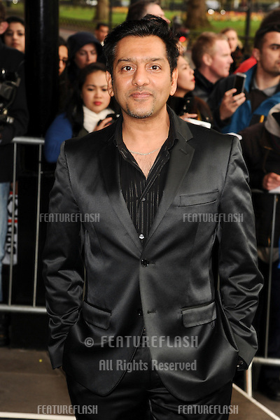 Nitin Ganatra arrives for The Asian Awards 2014 at the Grosvenor House Hotel, London. 04/04/2014 Picture by: Steve Vas / Featureflash