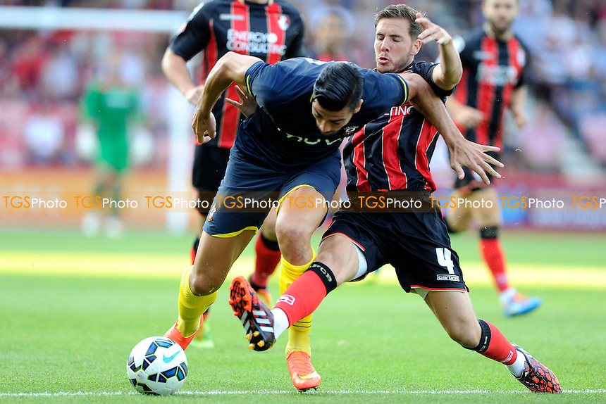 - AFC Bournemouth vs Southampton - Pre-Season Friendly Football Match at the Goldsands Stadium, Kings Park, Boscombe, Bournemouth, Dorset - 25/07/14 - MANDATORY CREDIT: Denis Murphy/TGSPHOTO - Self billing applies where appropriate - contact@tgsphoto.co.uk - NO UNPAID USE