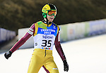 Podium of the Nordic Combined Mass Start 10 km / NH with POL Pawel Slowick as part of the Winter Universiade Trentino 2013 on 16/12/2013 in Predazzo, Italy.<br /> <br /> &copy; Pierre Teyssot - www.pierreteyssot.com