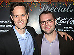 Director Davis McCallum &  Playwright Samuel D. Hunter attending the Opening Night Performance After Party for 'The Whale' at West Bank Cafe in New York City on 11/05/2012