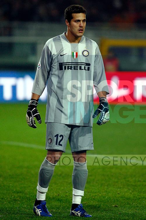 Julio Cesar of Inter Milan