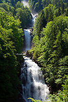 CHE, Schweiz, Kanton Bern, Berner Oberland, Giessbach am Brienzersee: Giessbachfaelle | CHE, Switzerland, Bern Canton, Bernese Oberland, Giessbach at Lake Brienz: Giessbach waterfalls