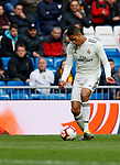 Real Madrid CF's Rapahel Varane during La Liga match. April 06, 2019. (ALTERPHOTOS/Manu R.B.)