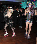 Atmosphere: burlesque roller girl & Drag Queen attending the Liza Minnelli 67th Birthday Celebration at the Copa in New York City on 3/13/2013..