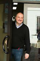 Né à Parme en 1969, Alberto Garlini est romancier. Il est aussi l'un des organisateurs du festival littéraire Pordenonelegge. Les noirs et les rouges est son troisième roman à paraître en France, après Un sacrifice italien (2008) et Venise est une fête (2010). Suzzara, 4 febbraio 2018, Noirfestival. © Leonardo Cendamo