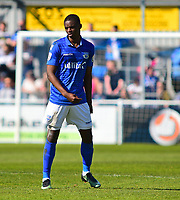 Eastleigh's Hakeem Odoffin<br /> <br /> Photographer Andrew Vaughan/CameraSport<br /> <br /> Vanarama National League - Eastleigh v Lincoln City - Saturday 8th April 2017 - Silverlake Stadium - Eastleigh<br /> <br /> World Copyright &copy; 2017 CameraSport. All rights reserved. 43 Linden Ave. Countesthorpe. Leicester. England. LE8 5PG - Tel: +44 (0) 116 277 4147 - admin@camerasport.com - www.camerasport.com