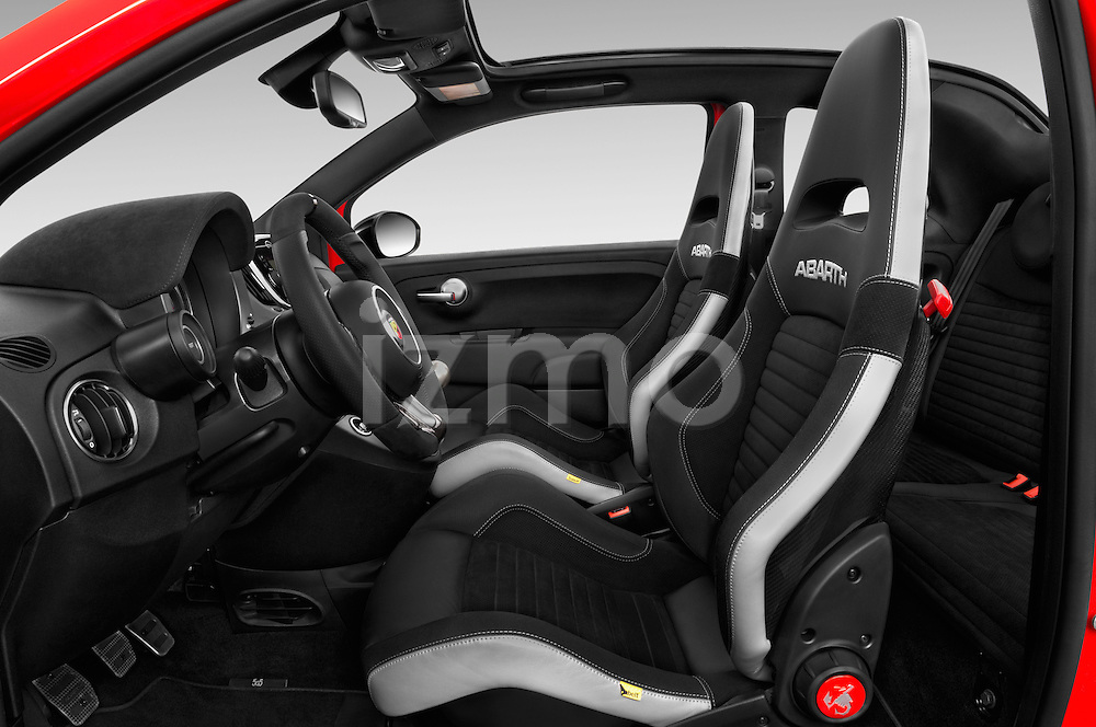 Front seat view of 2016 Abarth 595 Competizione 2 Door Convertible Front Seat  car photos