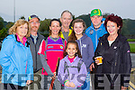 Mary O'Connor, John O'Shea, Maureen Hegarty, Pat O'Neill, Annie Rose Vogels, Maeve Kelleher, John O'Sullivan and Anne Biggane at the Old Kenmare walk in aid of Multiple Sclerosis Ireland on Sunday