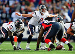 1 November 2009: Houston Texans' quarterback Matt Schaub calls out a play against the Buffalo Bills at Ralph Wilson Stadium in Orchard Park, New York, United States of America. The Texans defeated the Bills 31-10. Mandatory Credit: Ed Wolfstein Photo
