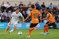 Gylfi Sigurdsson of Swansea City in action during Barnet vs Swansea City, Friendly Match Football at the Hive Stadium on 12th July 2017