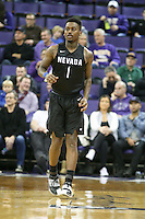 SEATTLE, WA - DECEMBER 11:  Nevada's Marcus Marshall against Washington.  Nevada defeated Washington 87-85 at Alaska Airlines Arena in Seattle, WA.