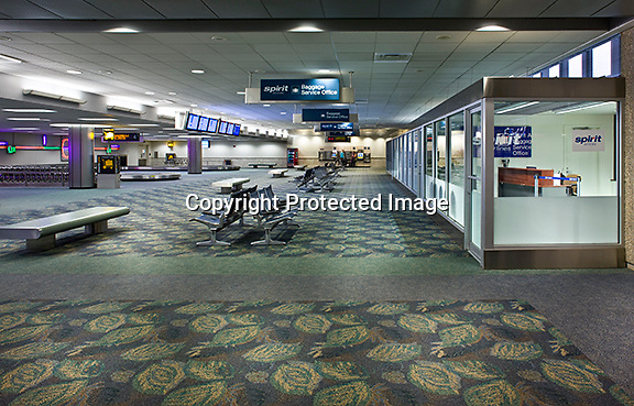 Fort Lauderdale International Airport baggage claim area.