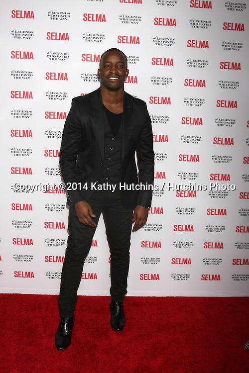 """SANTA BARBARA - DEC 6:  Elijah Kelley at the """"Selma"""" & Legends Who Paved the Way Gala at the Bacara Resort & Spa on December 6, 2014 in Goleta, CA"""