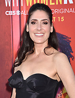 "BEVERLY HILLS, CA - AUGUST 07: Alicia Coppola attends the LA Premiere of CBS All Access' ""Why Women Kill"" at Wallis Annenberg Center for the Performing Arts on August 07, 2019 in Beverly Hills, California.<br /> CAP/ROT<br /> ©ROT/Capital Pictures"