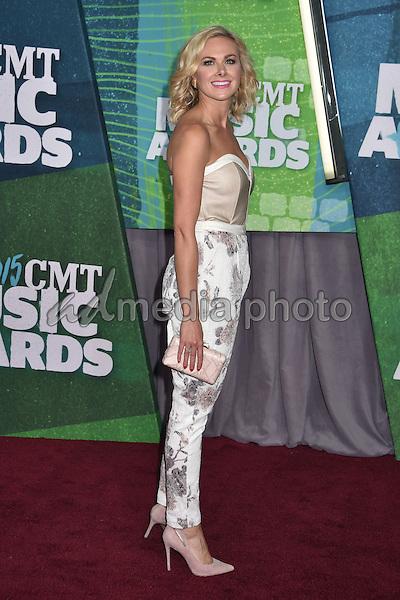 10 June 2015 - Nashville, Tennessee - Laura Bell Bundy. 2015 CMT Music Awards held at Bridgestone Arena. Photo Credit: Laura Farr/AdMedia