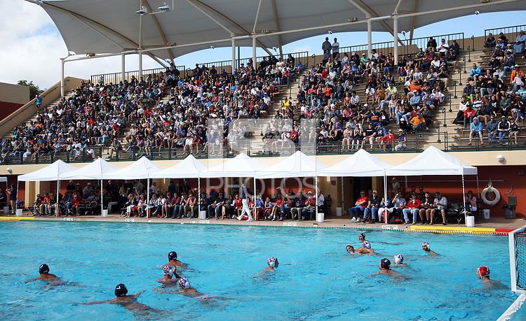 STANFORD, CA; June 11, 2017; Men's Water Polo, USA vs Croatia. Tony Acevedo's last match.