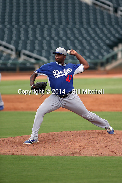 Robert Carson - 2014 AIL AIL Dodgers (Bill Mitchell)