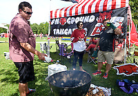 NWA Democrat-Gazette/BEN GOFF @NWABENGOFF<br /> Tailgating on Saturday Sept. 19, 2015 before the Arkansas football game against Texas Tech in Fayetteville.