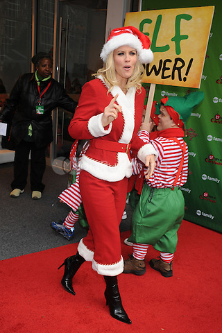 Jenny McCarthy at the ABC Family's world record elf party to promote Santa Baby 2: Christmas Maybe at Bryant Park  in New York City. December 7, 2009. Credit: Dennis Van Tine/MediaPunch