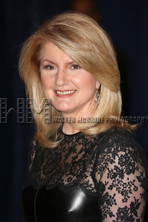 Arianna Huffington  attending the  2013 White House Correspondents' Association Dinner at the Washington Hilton Hotel in Washington, DC on 4/27/2013