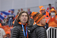 OLYMPICS: SOCHI: Adler Arena, 08-02-2014, Gerard van Velde (trainer/coach), Michel Mulder (NED), ©foto Martin de Jong