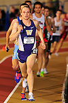 11 MAR 2016:  Blake Nelson of the University of Washington competes in the Distance Medley during the Division I Men's Indoor Track & Field Championship held at the Birmingham Crossplex in Birmingham, Al. Tom Ewart/NCAA Photos