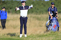 Conor Purcell  (GB&I) on the 5th fairway during the final day foursomes matches at the Walker Cup, Royal Liverpool Golf Club, Hoylake, Cheshire, England. 08/09/2019.<br /> Picture Fran Caffrey / Golffile.ie<br /> <br /> All photo usage must carry mandatory copyright credit (© Golffile | Fran Caffrey)