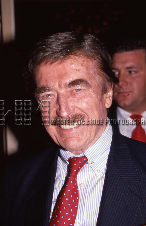 Fred Trump at The Plaza Hotel on June 1, 1991 in New York City.
