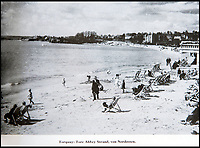 BNPS.co.uk (01202 558833)<br /> Pic: PhilYeomans/BNPS<br /> <br /> Torquay in Devon - pre war post cards were used by the Nazi's to illustrate the landscape.<br /> <br /> Chilling - Hitlers 'How to' guide to the invasion of Britain.<br /> <br /> A remarkably detailed invasion plan pack of Britain has been unearthed to reveal how our genteel seaside resorts would have been in the front line had Hitler got his way in World War Two.<br /> <br /> The Operation Sea Lion documents, which were issued to German military headquarters' on August 1, 1940, contain numerous maps and photos of every town on the south coast.<br /> <br /> They provide a chilling reminder of how well prepared a German invading force would have been had the Luftwaffe not been rebuffed by The Few in the Battle of Britain.<br /> <br /> There is a large selection of black and white photos of seaside resorts and notable landmarks stretching all the way from Land's End in Cornwall to Broadstairs in Kent.<br /> <br /> The pack also features a map of Hastings, raising the possibility that a second battle could have been staged there, almost 900 years after the invading William The Conqueror triumphed in 1066.