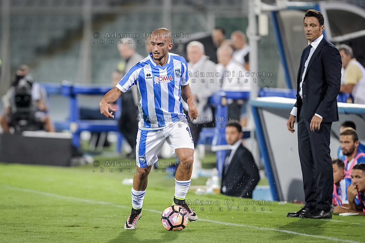 Benali Ahmad (Pescara) during the Italian Serie A football match Pescara vs SSC Napoli on August 21, 2016, in Pescara, Italy. Photo by Adamo Di Loreto