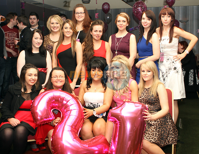 Niamh Rock's 21st in the Star and Crescent...(Photo Jenny Matthews/www.newsfile.ie)