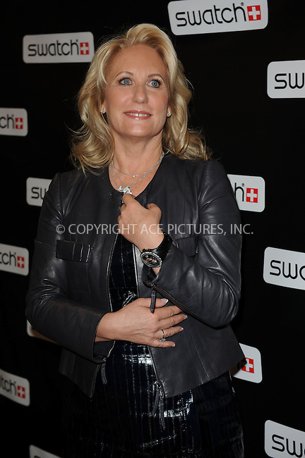 WWW.ACEPIXS.COM . . . . . ....November 12 2009, New York City....Swatch global brand president Arlette-Elsa Emch at the Swatch re-launch at the Swatch Store in Times Square on November 12, 2009 in New York City.....Please byline: KRISTIN CALLAHAN - ACEPIXS.COM.. . . . . . ..Ace Pictures, Inc:  ..(212) 243-8787 or (646) 679 0430..e-mail: picturedesk@acepixs.com..web: http://www.acepixs.com