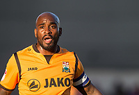 Jamal Campbell-Ryce of Barnet during the 2017/18 Pre Season Friendly match between Barnet and Swansea City at The Hive, London, England on 12 July 2017. Photo by Andy Rowland.