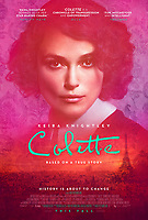 COLETTE (2018)<br /> POSTER<br /> *Filmstill - Editorial Use Only*<br /> CAP/FB<br /> Image supplied by Capital Pictures