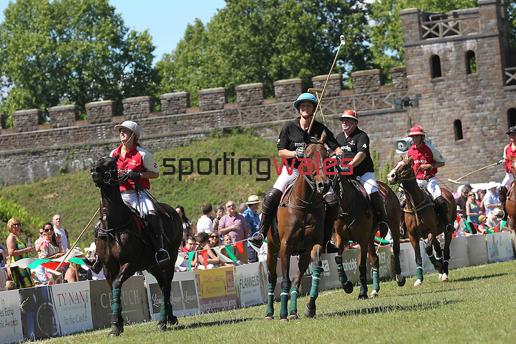 Polo in the Castle 2011..26.06.11.©Steve Pope