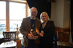 Ambassador Christopher Hill and wife Julie Hill after a panel discussion at the Hotel Telluride in Telluride, Colorado on May 24, 2015.