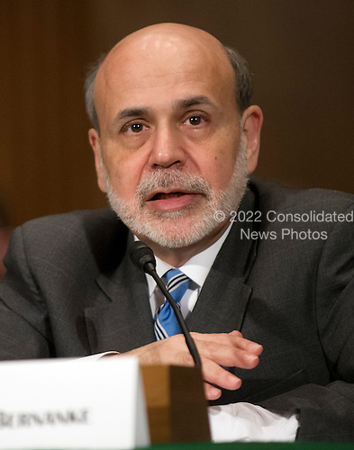 Ben Bernanke, Chairman, Board of Governors of the Federal Reserve System testifies on The Semiannual Monetary Policy Report to the Congress. before the United States Senate Committee on Banking, Housing, and Urban Affairs on Capitol Hill in Washington, D.C. on Thursday, March 1, 2012..Credit: Ron Sachs / CNP