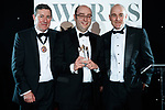 © Joel Goodman - 07973 332324 . 01/03/2018 . Manchester , UK . Law Firm of the Year – medium (5-20 partners) winner is Myerson Solicitors LLP . The Manchester Evening News Legal Awards at the Midland Hotel in Manchester City Centre . Photo credit : Joel Goodman