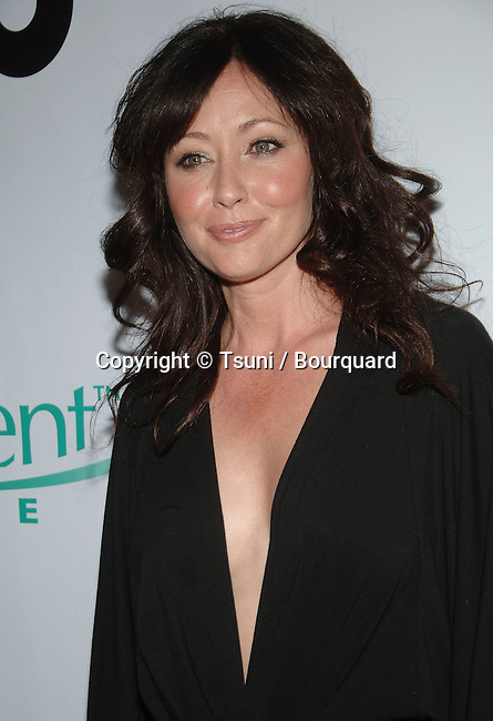 Shannon Doherty - <br />  90210 Premiere Party a privat house in Malibu.<br /> <br /> headshot