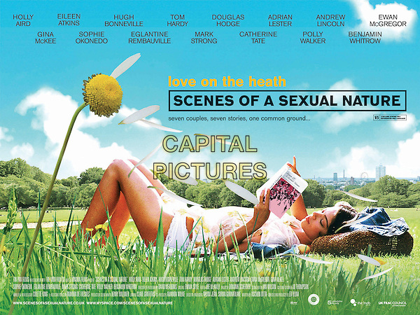 POSTER.in Scenes of a Sexual Nature.**Editorial Use Only**.CAP/FB.Supplied by Capital Pictures