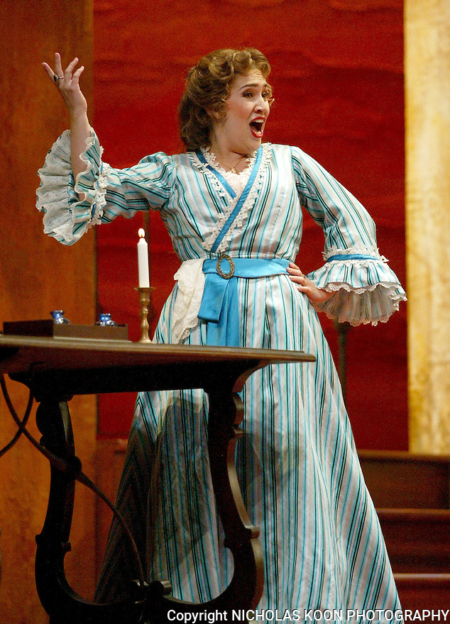 2002 - BARBER OF SEVILLE - Lynette Tapia as Rosina in Opera Pacific's production of The Barber of Seville.